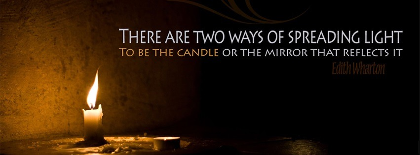 candle or mirror