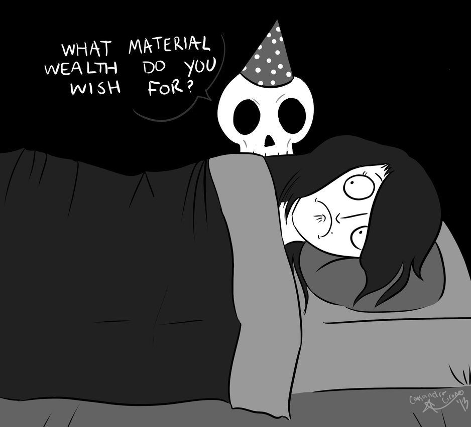 birthday skeleton