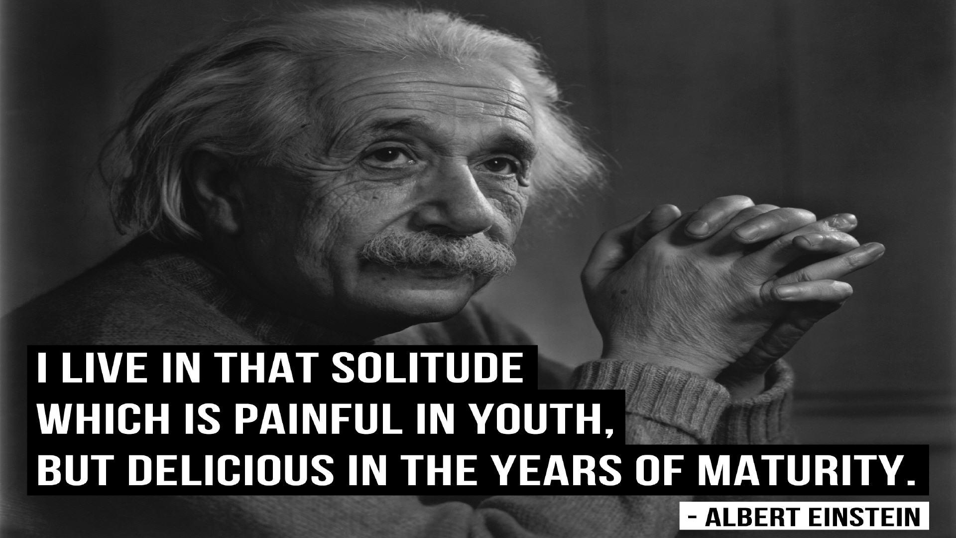 Albert Einstein Quotes Solitude