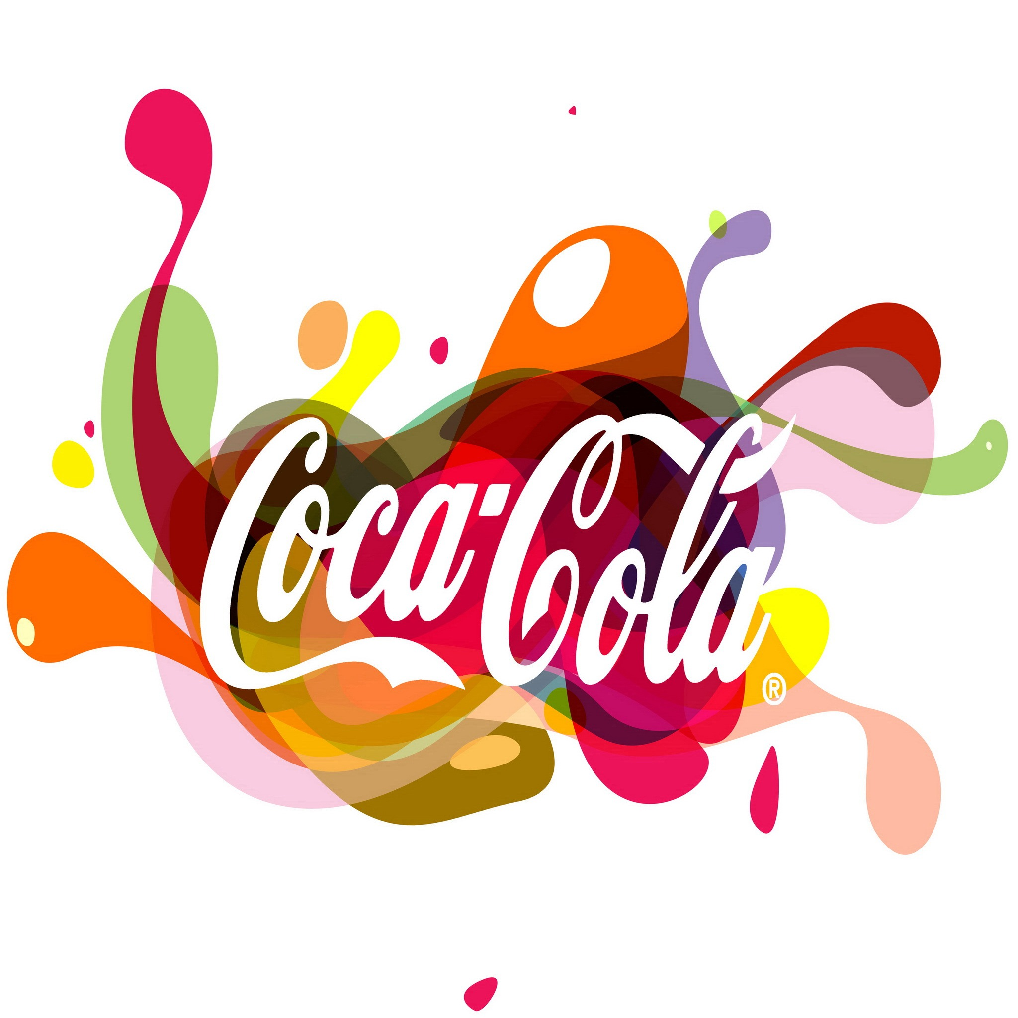 Coca Cola Abstract Wallpaper