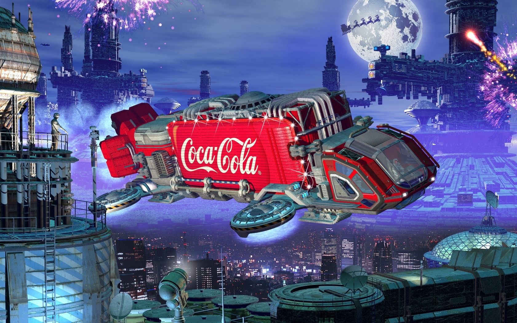 Coca Cola Fantasy Wallpapers