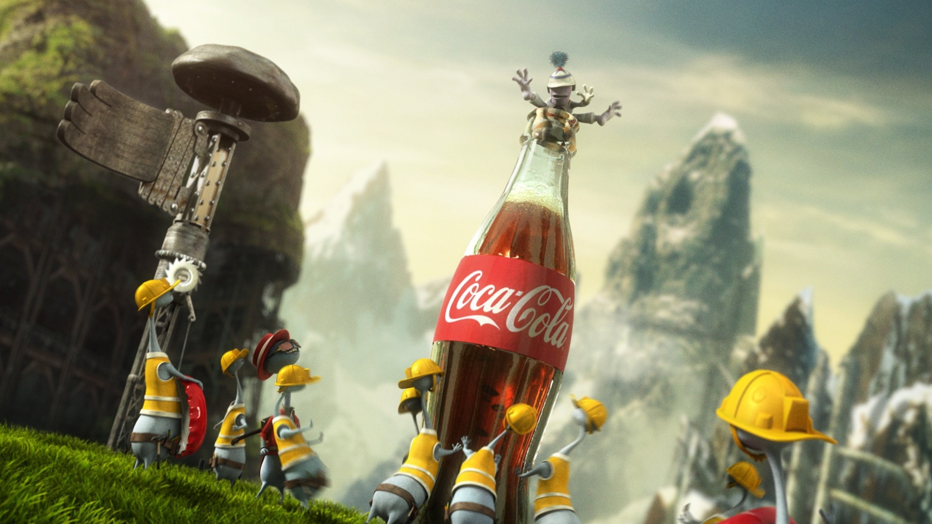Coca Cola Funny Wallpaper