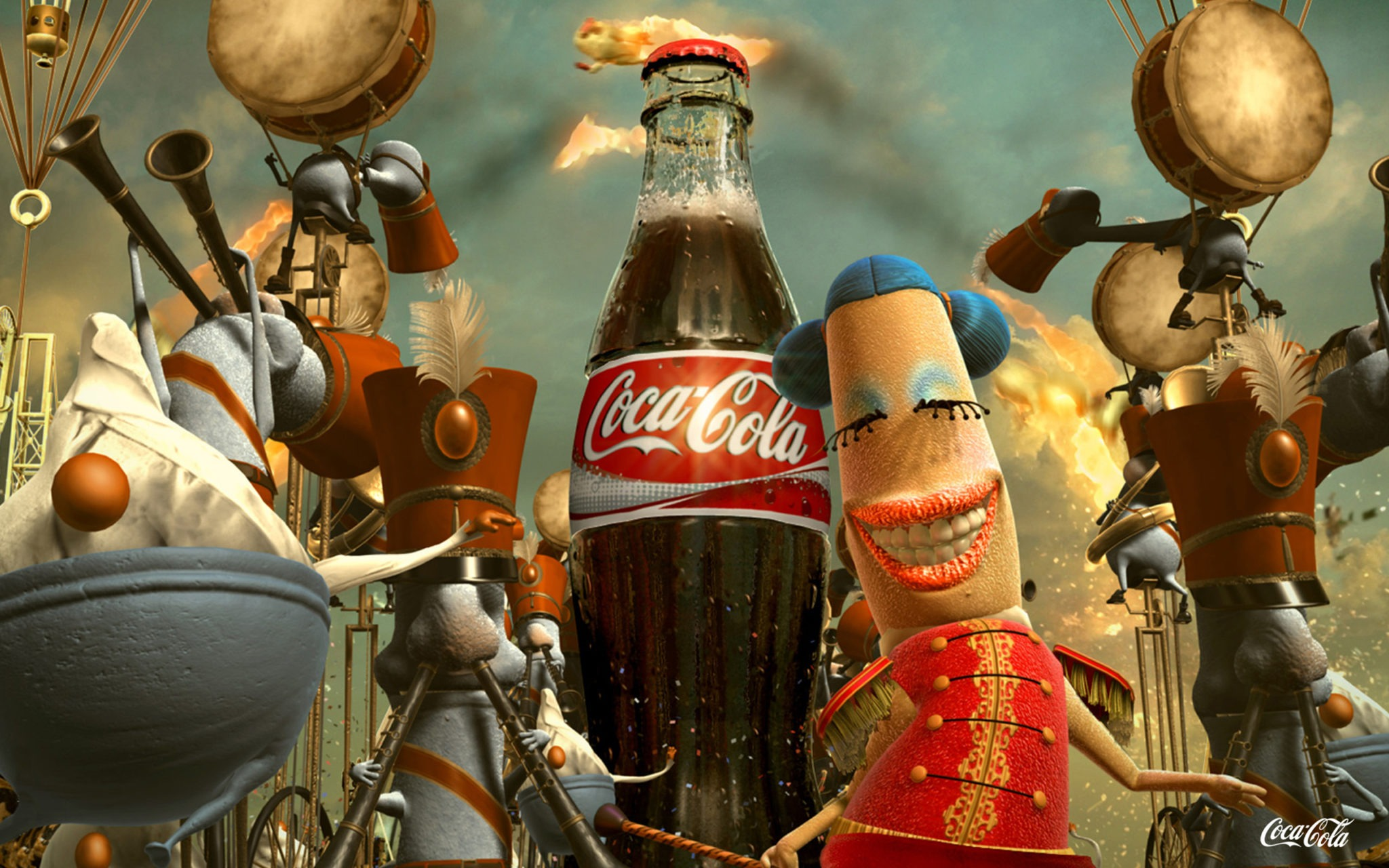 Coca Cola Funny Wallpapers