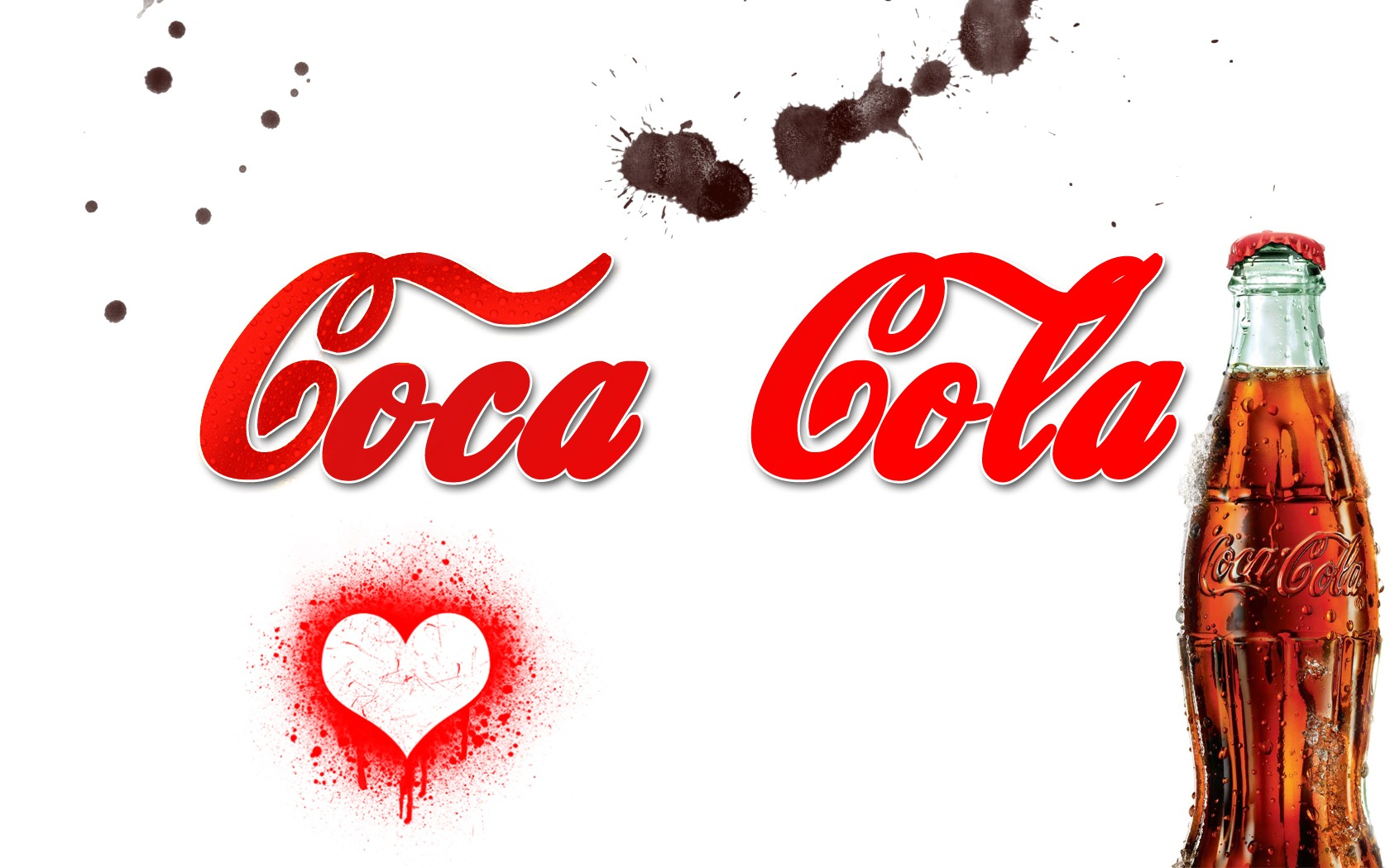 Coca Cola Heart Wallpaper