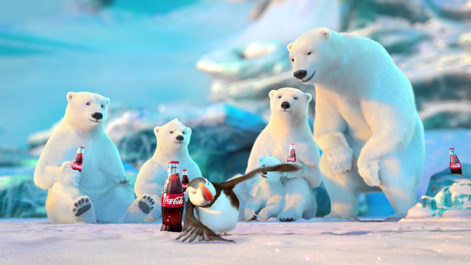 Coca Cola Polar Bears