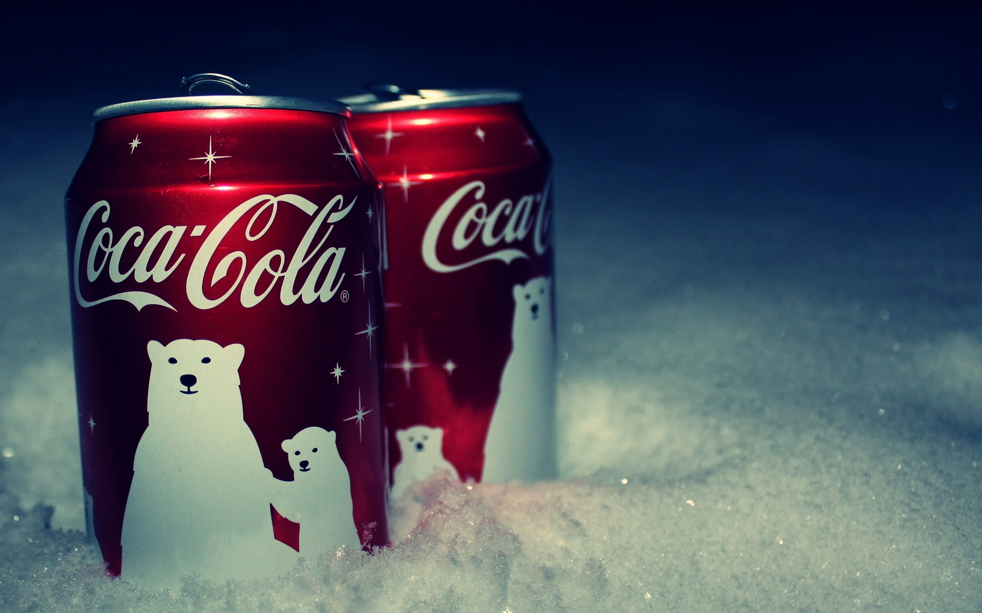 Coca Cola Snow Wallpaper