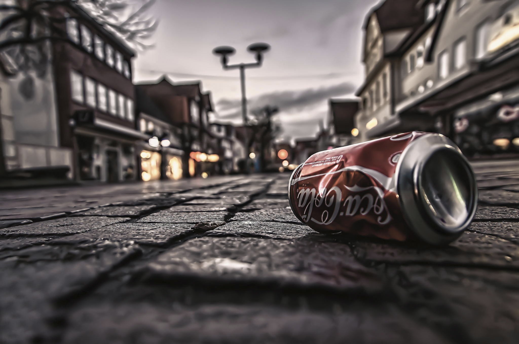 Coca Cola Street Wallpaper