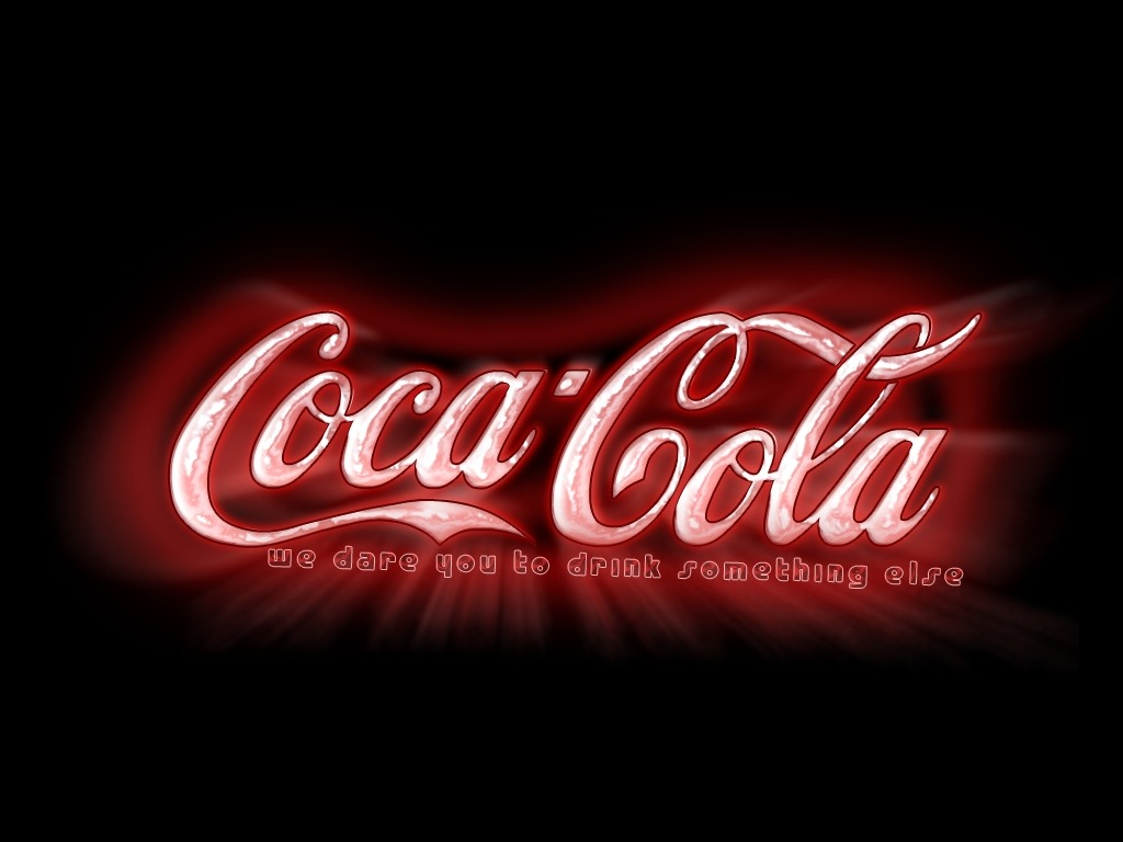 Coca Cola Wallpaper Black
