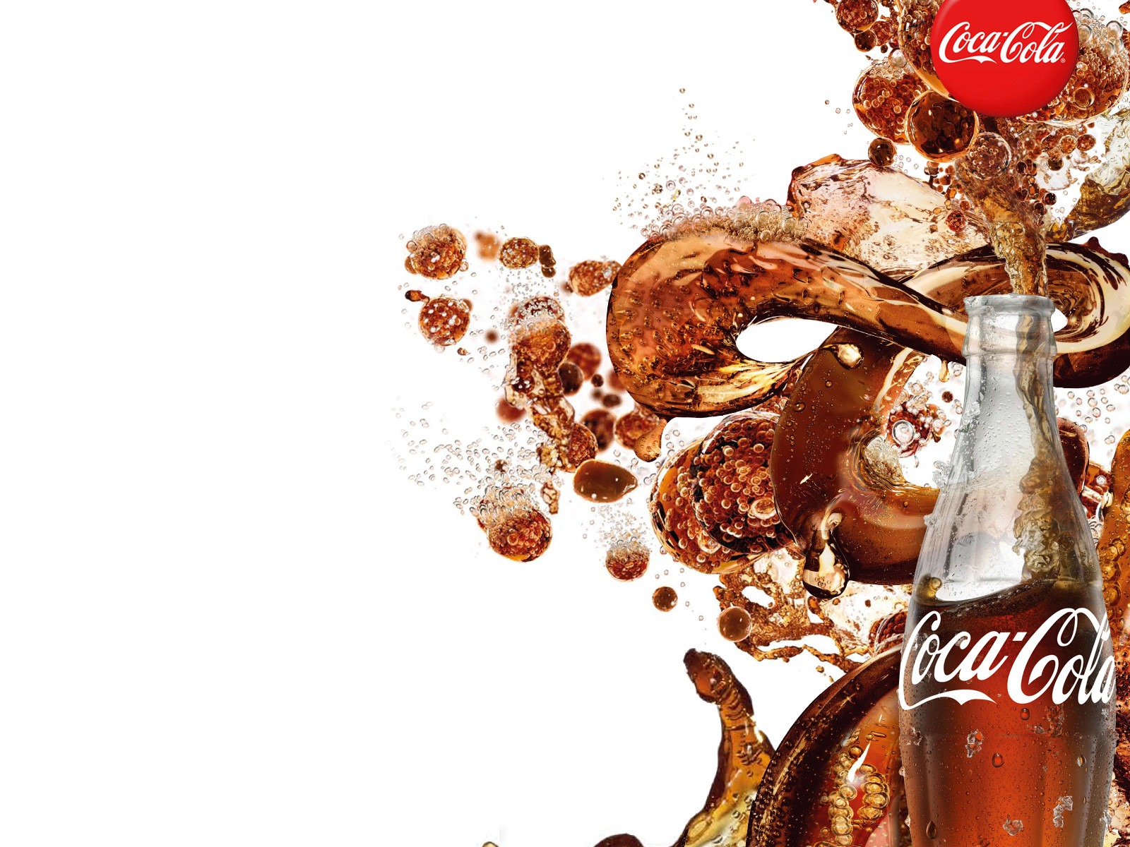 Coca Cola Wallpapers splash