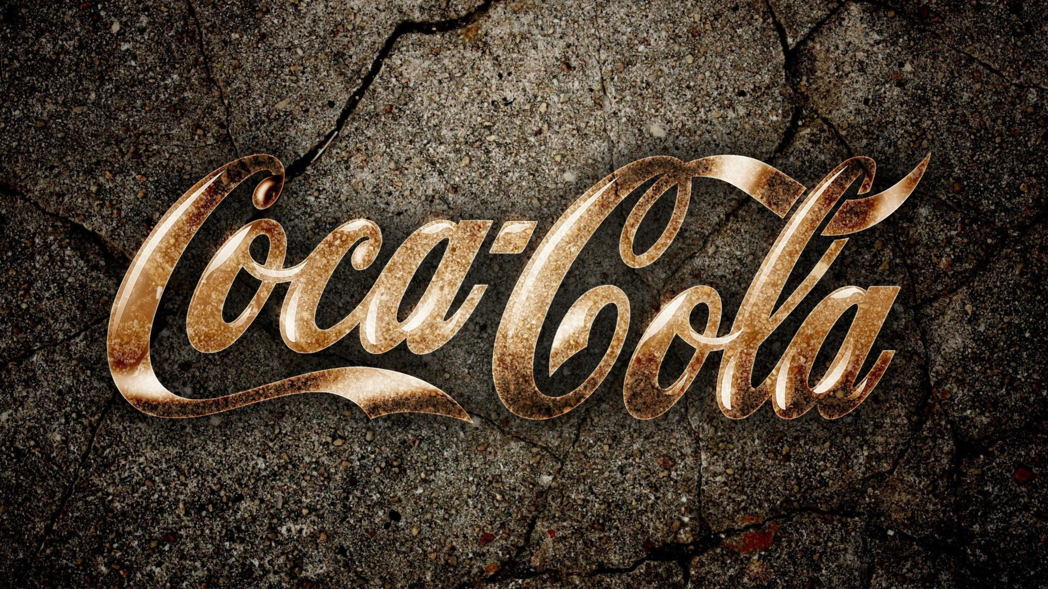 Coca Cola logo background