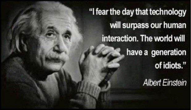 technology albert einstein quotes