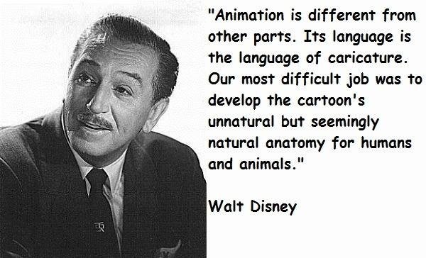 Animation Walt Disney Quotes