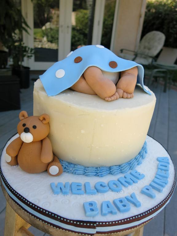 Baby Shower Cakes And Cupcakes Ideas