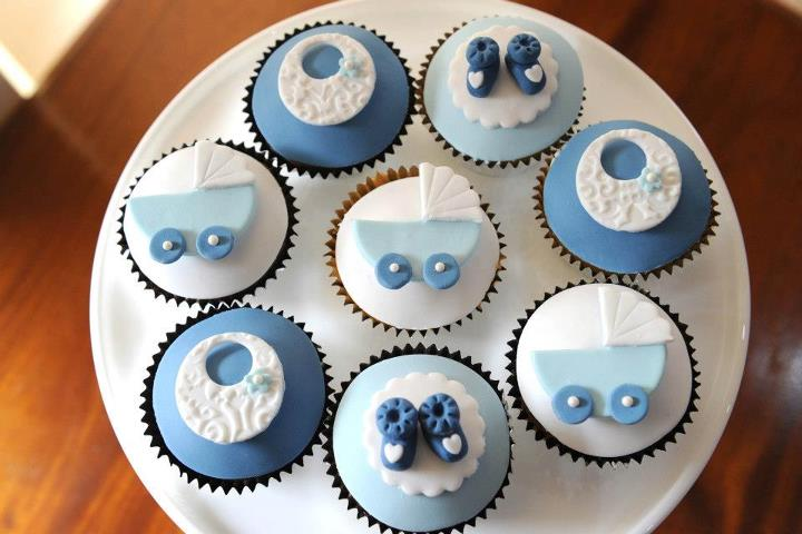 Baby Shower Cupcake Designs