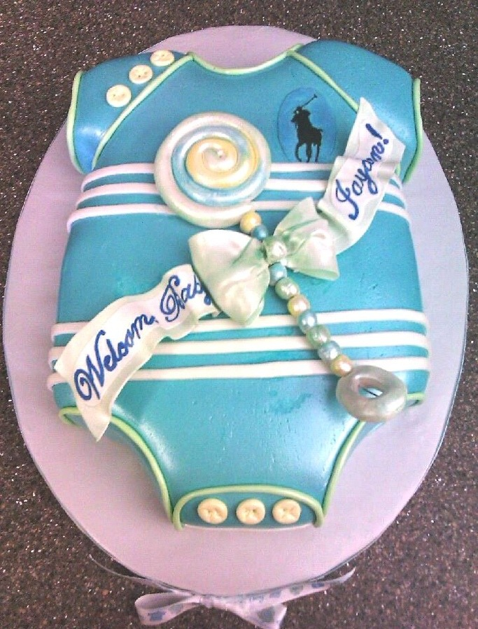 Baby Shower Dress Cake
