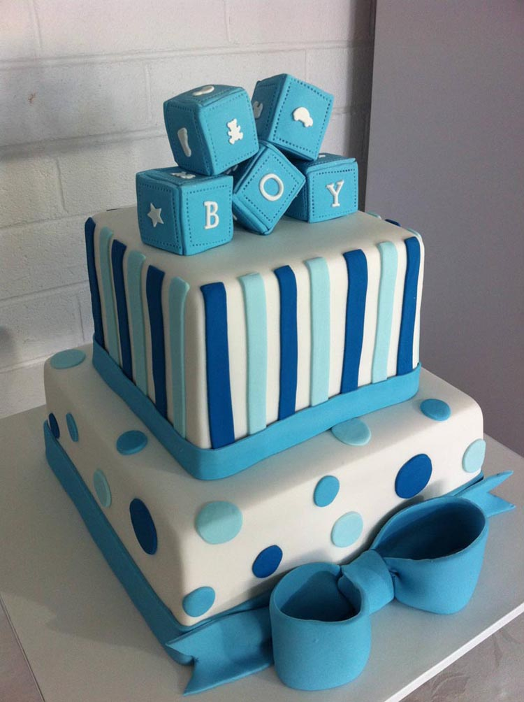Beautiful Baby Shower Cakes for Boys