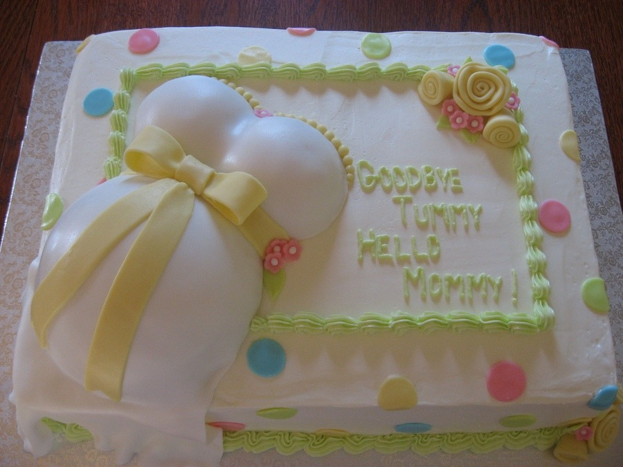crazy baby shower cake ideas
