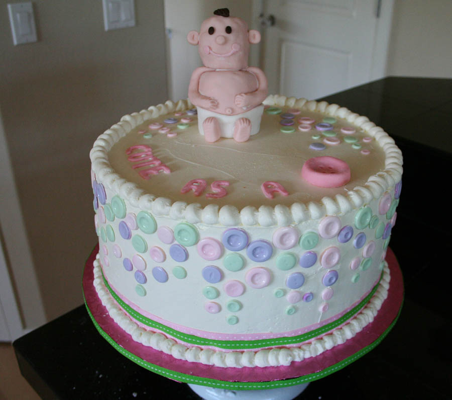 Cute Baby shower-Cakes for Boys
