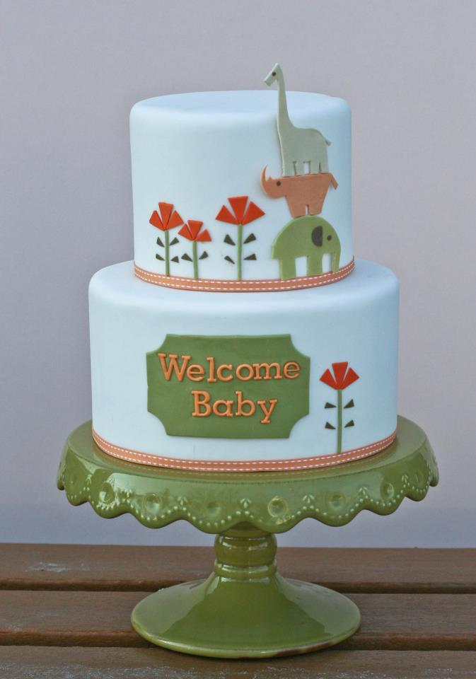 Erica OBrien baby shower cake