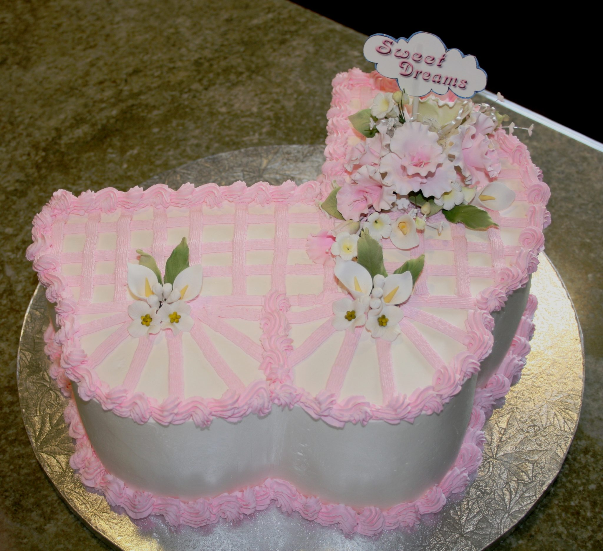 Cake Ideas For A Baby Girl : 70 Baby Shower Cakes and Cupcakes Ideas