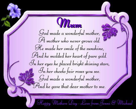mother day speeches free