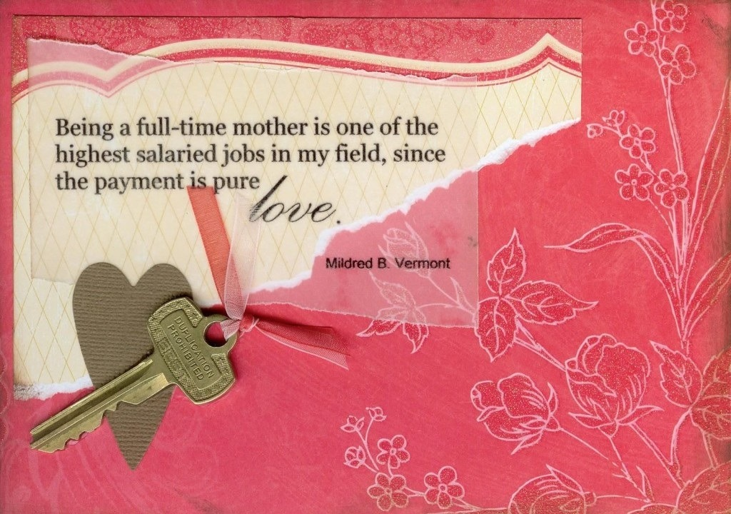 Mothers Day Quotes full time mother