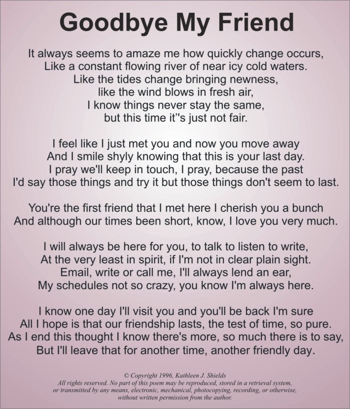 letter to my best friend who passed away 25 sad poems about poems 19596
