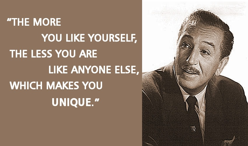 Unique Walt disney quotes
