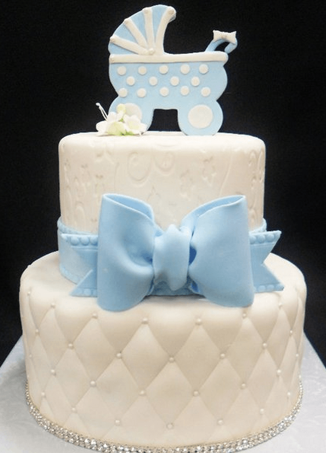 Baby Shower Cake Images Boy : 70 Baby Shower Cakes and Cupcakes Ideas