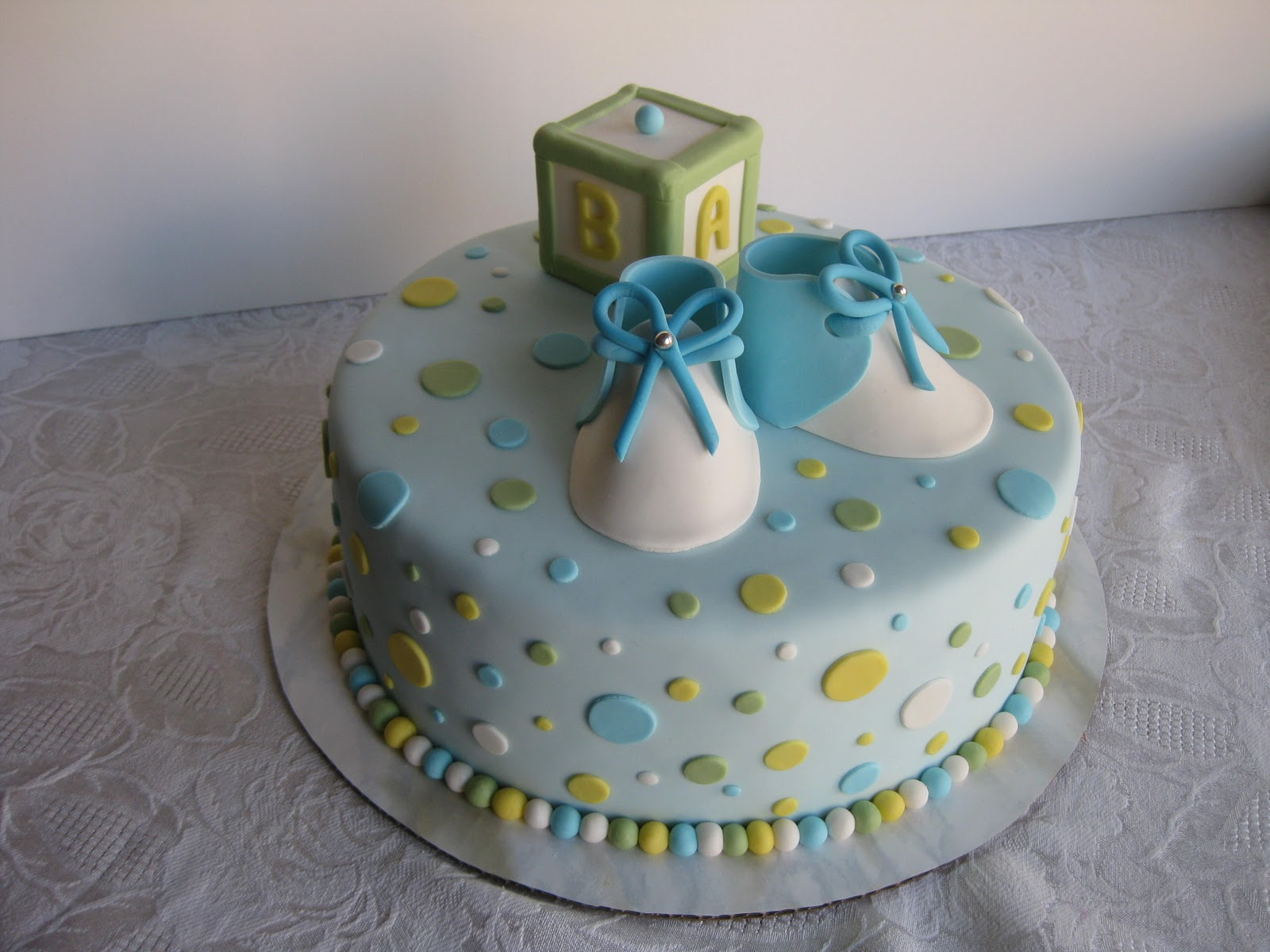 Baby Shower For One ~ Baby shower cakes and cupcakes ideas