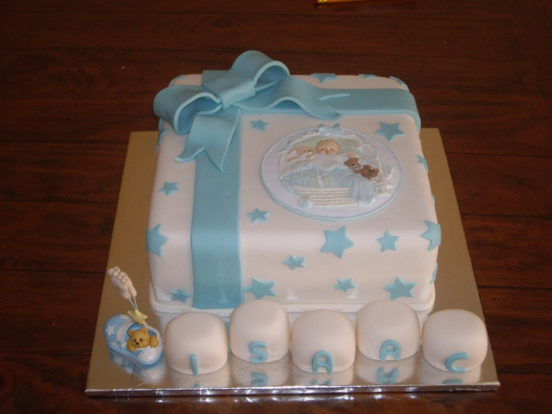 baby shower christening cakes