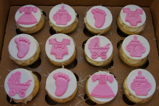 Captivating Baby Shower Cupcakes For Girl