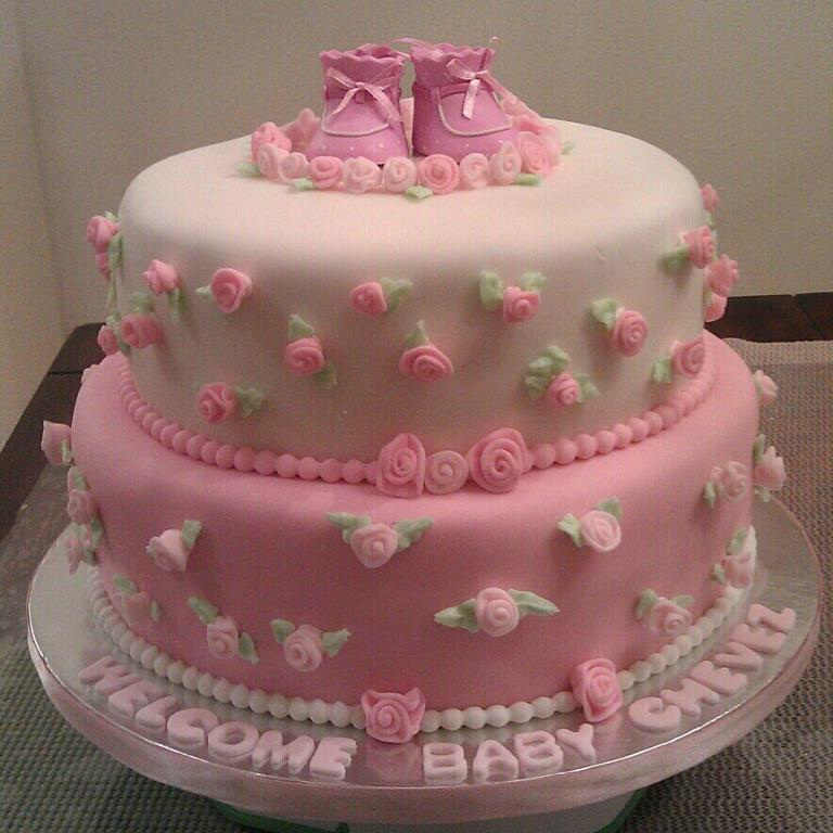 baby shower decorated cakes