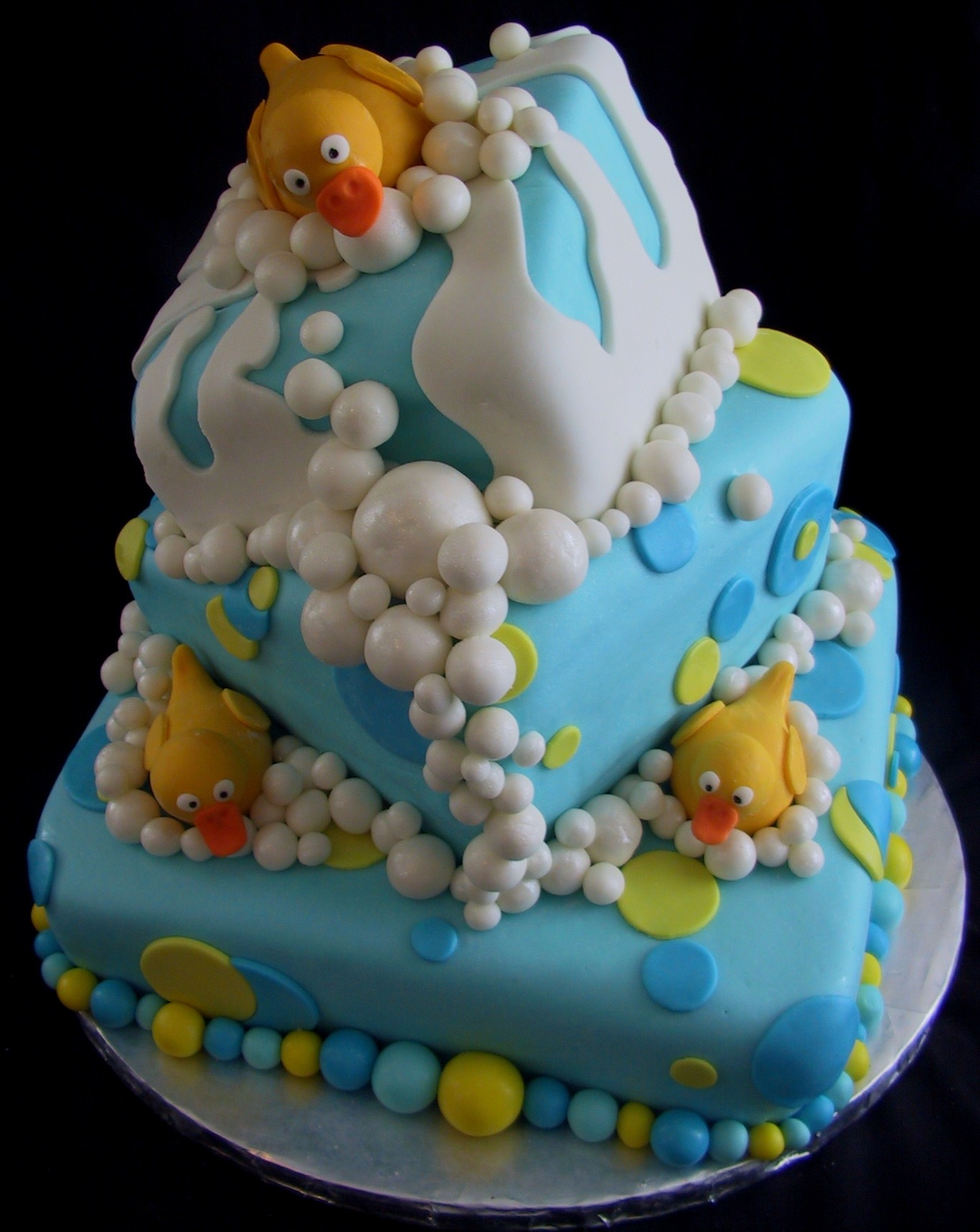 baby-showers-cakes ducks