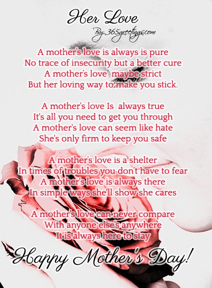 Mom Quotes From Daughter: 35 Touching Mothers Day Poems From Kids