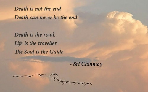 sri chinmoy death poems