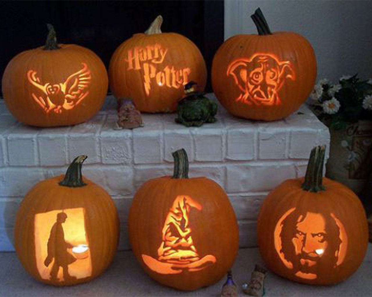 Creative Halloween Pumpkin Carving