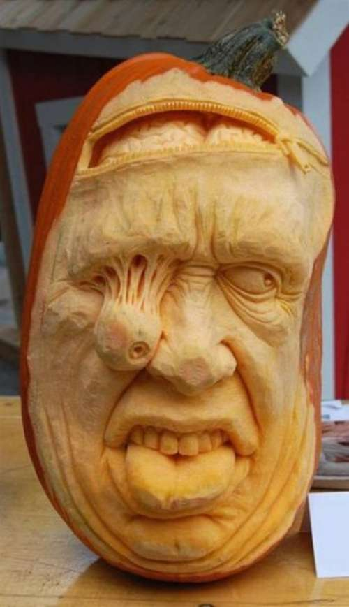Creepy Halloween Pumpkin