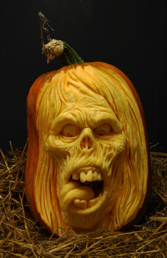 Creepy halloween pumpkin carving ideas