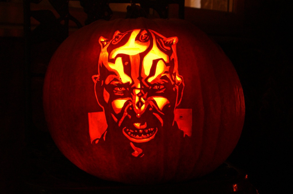 Devil Pumpkin Carving