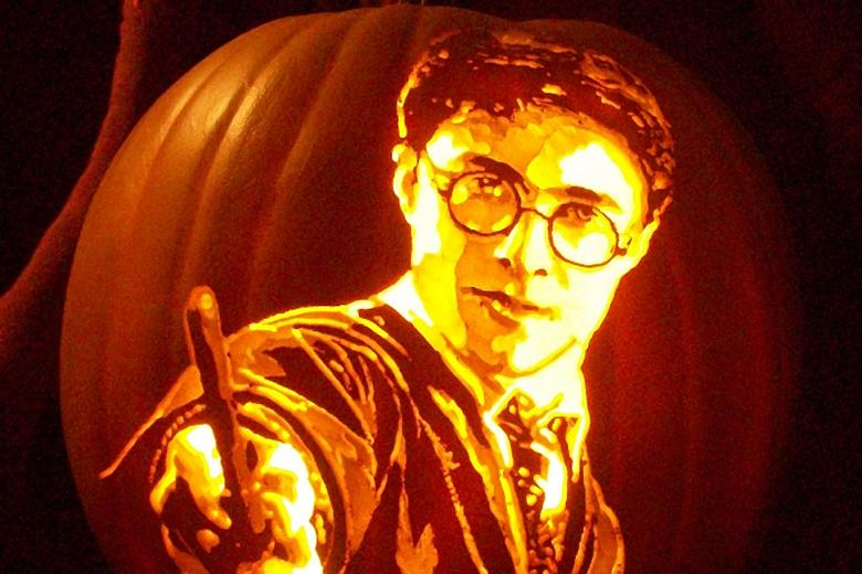 Pumpkin Faces of Harry Potter