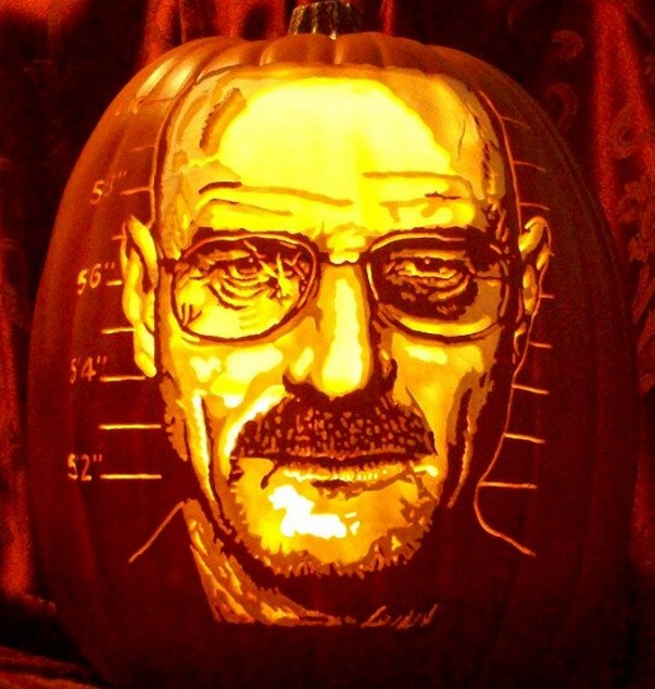 45 Mind Blowing Carved Pumpkin Portraits