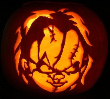 Pumpkin Carving Chucky