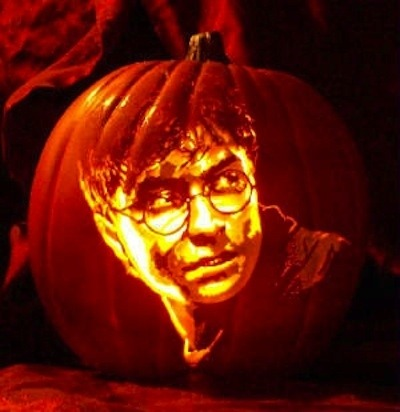 Pumpkin Carving Daniel Radcliffe