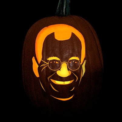 Pumpkin Carving David Letterman