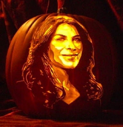 Pumpkin Carving Jillian Michaels