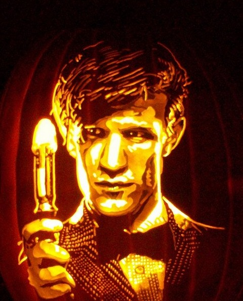 Pumpkin Carving Matt Smith