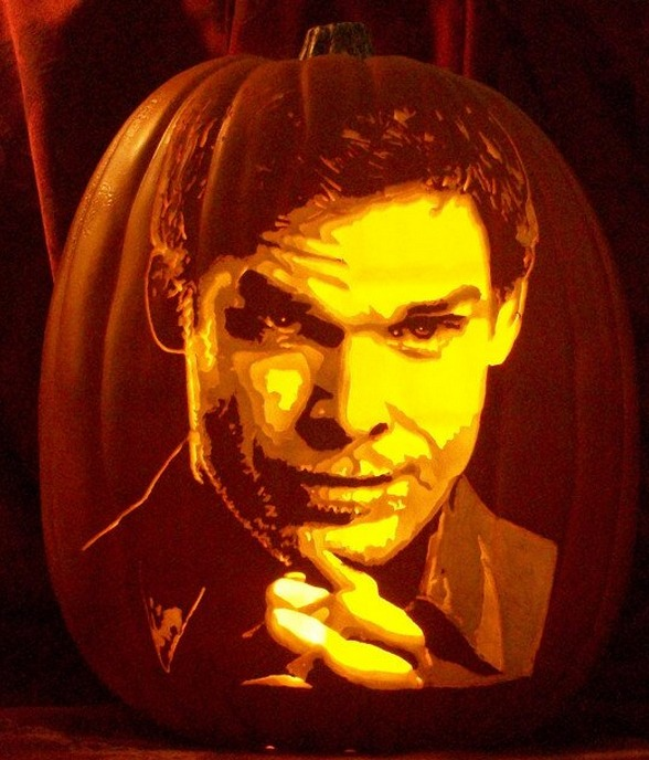 Pumpkin portraits Michael C. Hall