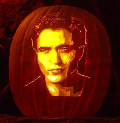 Pumpkin portraits Robert Pattinson