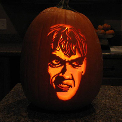 Pumpkin Carving Ted Cassidy